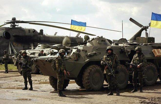 130 млн гривен выплачено украинским военным за участие в АТО