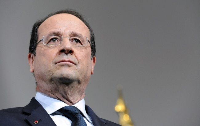 Олланд допускает поэтапное снятие санкций с РФ