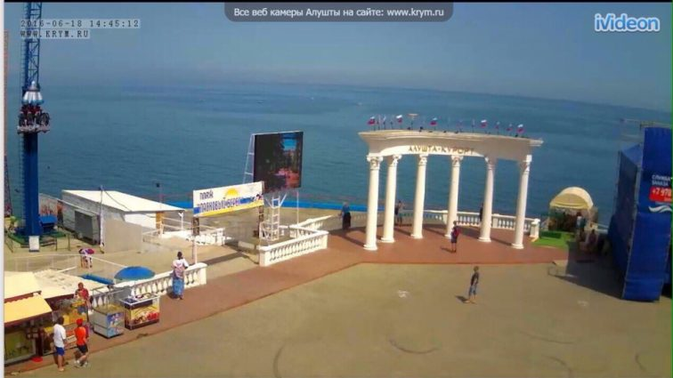 В сети показали фото «ажиотажа» на Крымских пляжах (ФОТО)