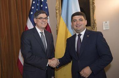 Гройсман обсудил с американскими министрами, как привлечь в Украину больше денег с США