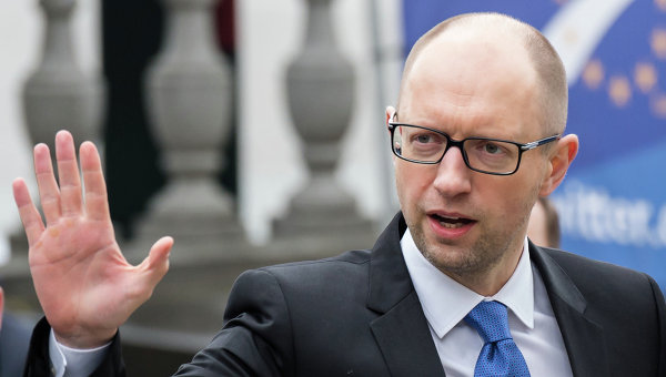 Украинцы поблагодарили Яценюку за две реформы