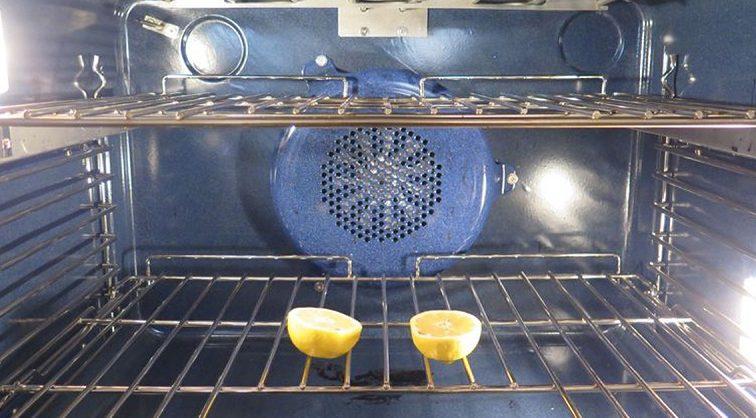 Просто помести 2 половинки лимона в духовку и не закрывай дверцу! Эффект восхищает…