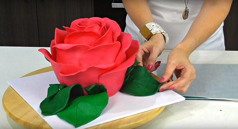 Великолепный торт «Роза»: создай шедевр кондитерского искусства своими руками!