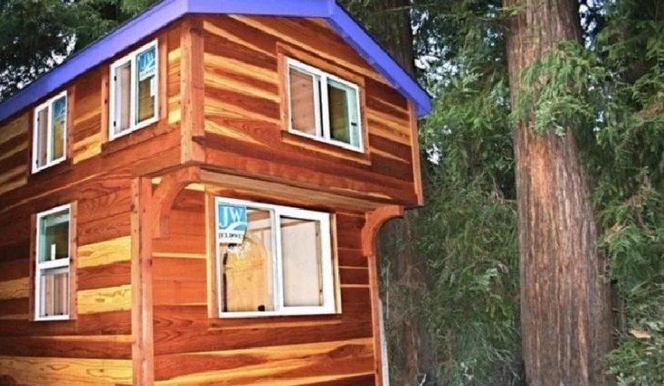 Этот домик площадью всего 33 м². Но когда зайдешь внутрь, захочешь остаться там навсегда (ФОТО)