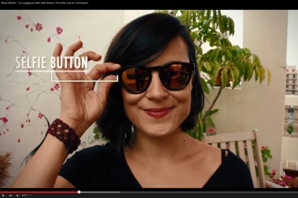 Испанцы выпустили очки для любителей селфи