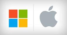 Apple и Microsoft являются самыми популярными компаниями мира
