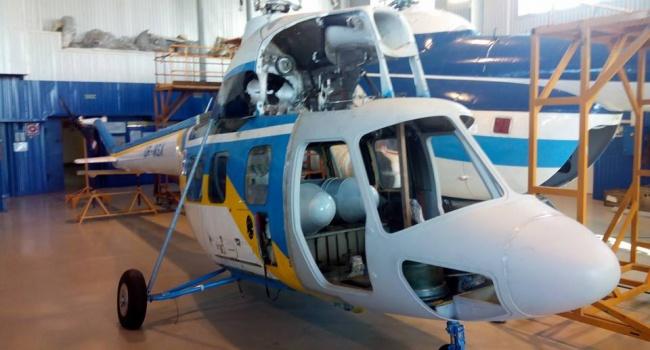 Украина будет выпускать свой вертолет