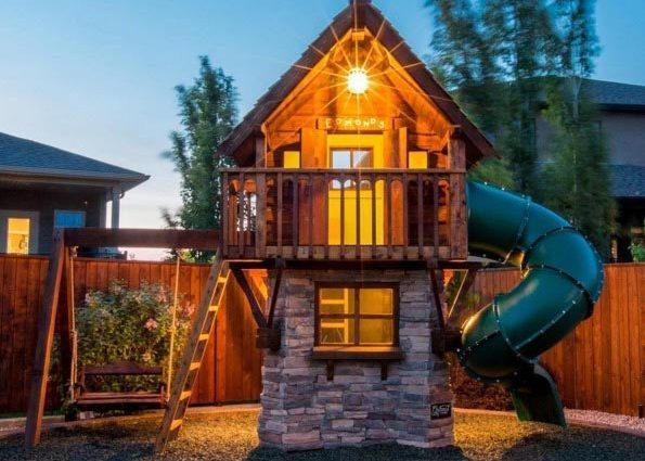 'Глупая' идея этого папы строить роскошные игровые домики для детей, превратилась в нечто невероятное (фото)