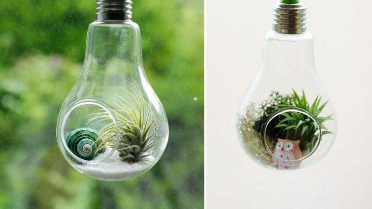 20 забавных идей для утилизации старых лампочек