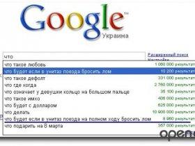 Окей, Google: самые тупые вопросы, которые люди задают в интернете