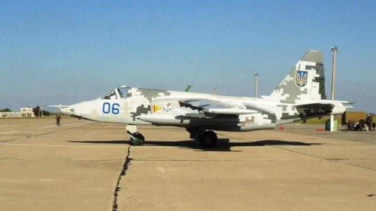 Украинский СУ-25 смог пролететь на высоте 1 метра: пилот — настоящий ас! (Видео)