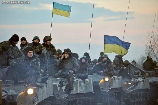 Атомобиль для атовцов приобрели украинцы в Италии