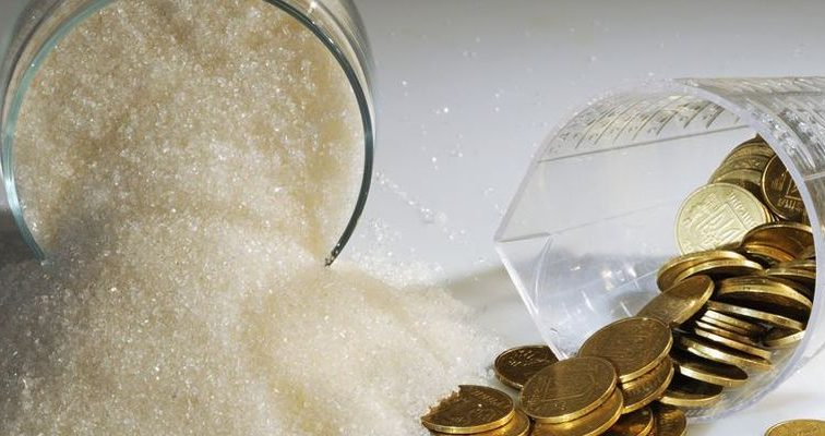 Цены на сахар снизились на 10%