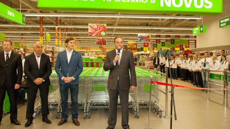 NOVUS открывает еще один супермаркет в Киеве