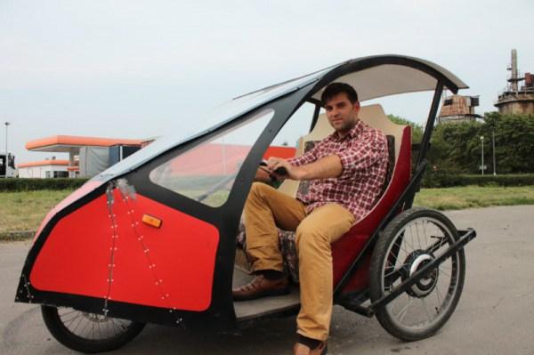 Украинский инженер создал электромобиль, который тратит 6 грн на 100 км