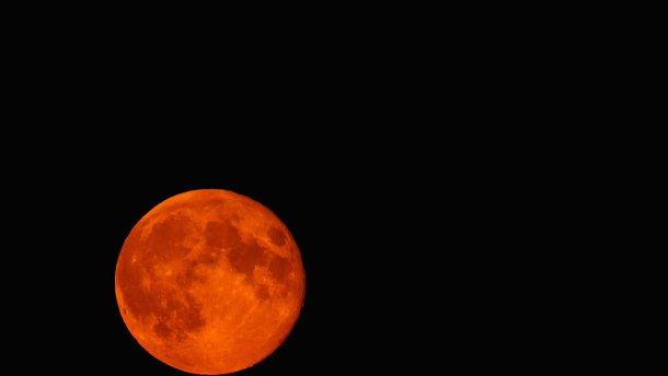 «Кровавая» луна взойдет над Украиной – когда наблюдать жуткое явление