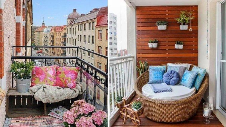 50 идей для открытых балконов от европейских дизайнеров