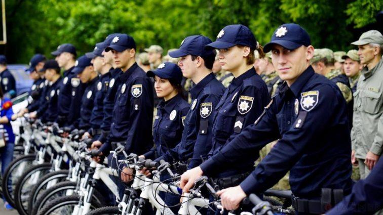 На Украине создали велопатруль