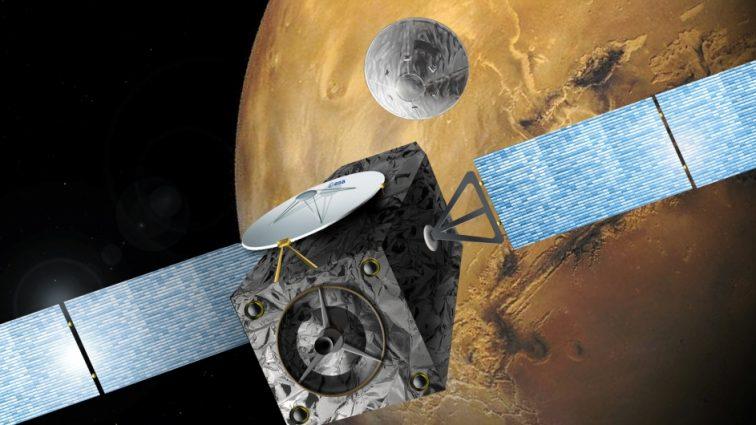 Зонд Schiaparelli разбился при посадке на Марс