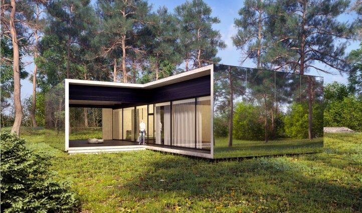 Украинский архитектор разработал дизайн дома, который возводят за месяц