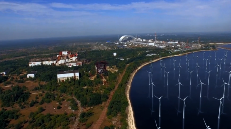 В Чернобыле начали строить солнечные электростанции