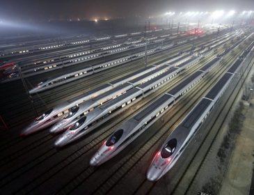 Китай намерен построить самую большую в мире станцию для поездов