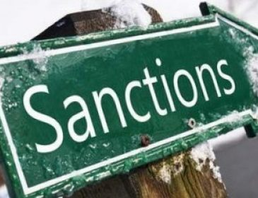 Украина остановила санкции против России