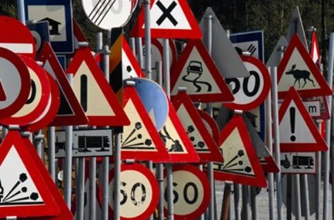 В Украине введены новые дорожные знаки