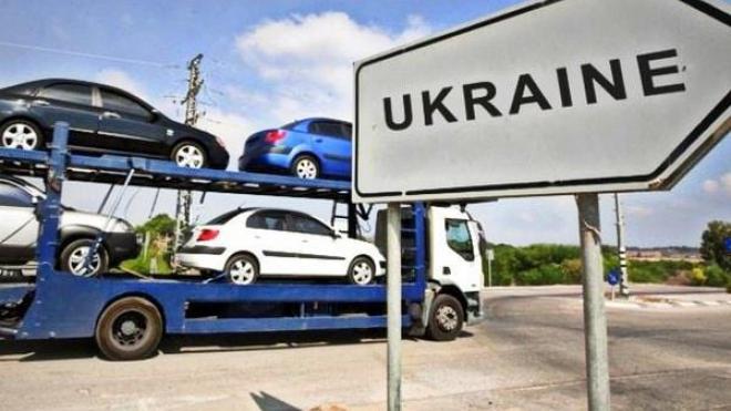 В Украину начнут пускать авто евро-2 без растаможки