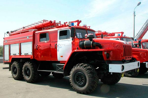 Самый большой пожарный автомобиль
