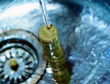 Население Черновцов задолжало за воду более 11 миллионов гривен