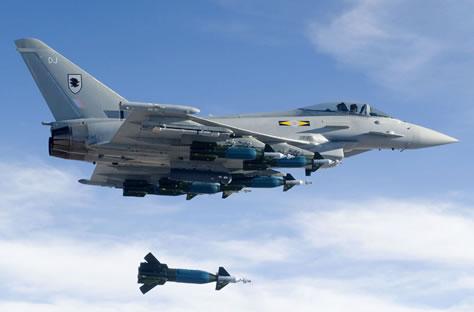 В небе над Эстонией летают стребители НАТО