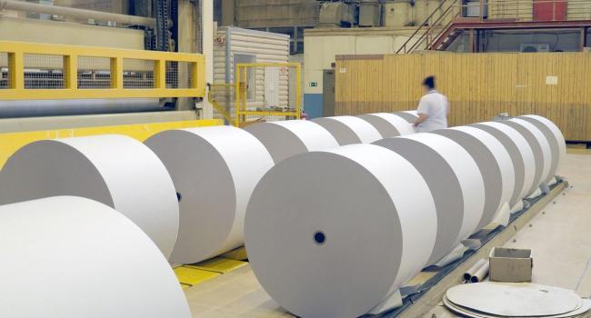 В Украине снова начал работать бумажный комбинат