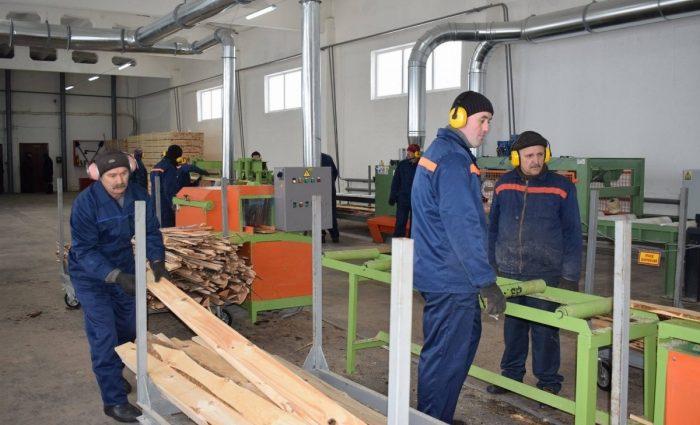 На Сумщине запустили новое деревообрабатывающее производство