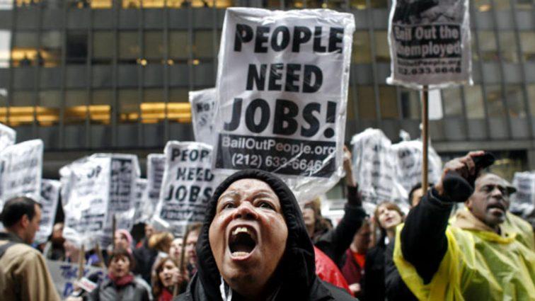 В США неожиданно и рекордно упала безработица
