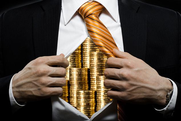 Восемь самых богатых людей мира имеют больше денег, чем половина населения Земли