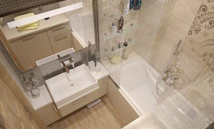 Маленькая, но удаленькая: как сделать дизайн ванной в хрущевке практичным и функциональным?