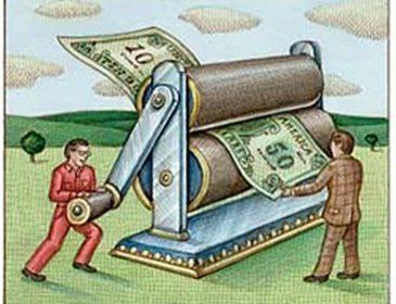 Гонтарева запустила в НБУ печатный станок — деньги печатают в 2 смены!
