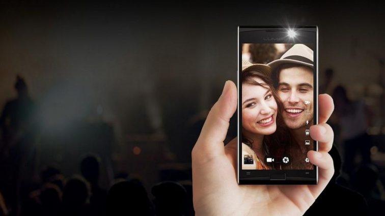 Первый смартфон с камерой ночного видения