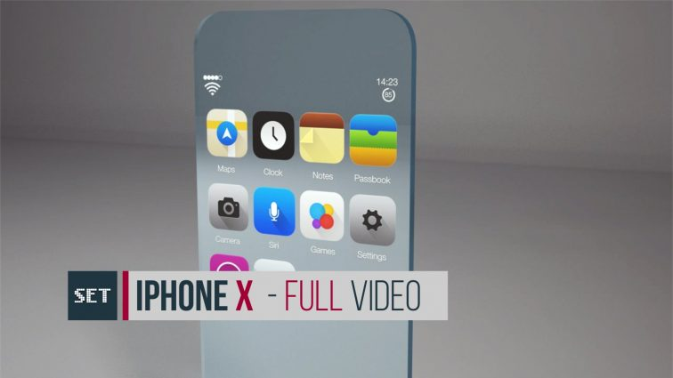 IPhone X: скоро появится новый смартфон Apple с «обернутым» вокруг корпуса экраном