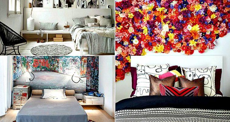 Комната с характером: смелые идеи дизайна современной спальни (Фото)