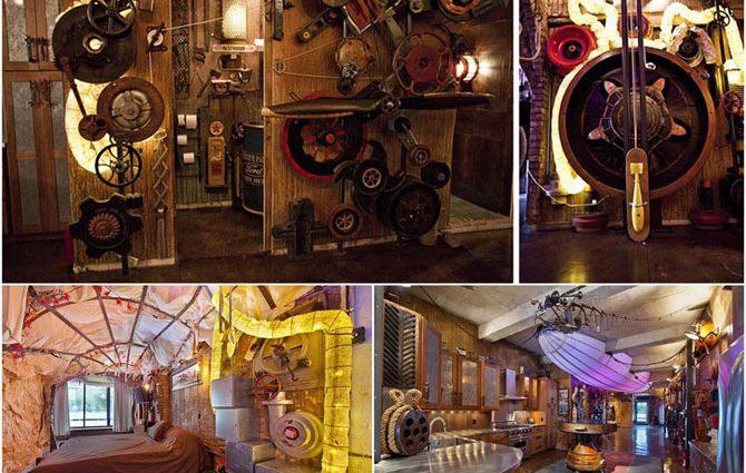 Стимпанк: квартира для любителей научной фантастики!