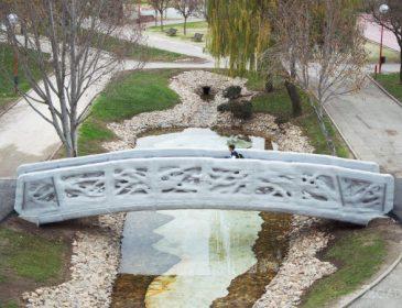 Первый в мире 3D-печатный мост для пешеходов (фото + видео)