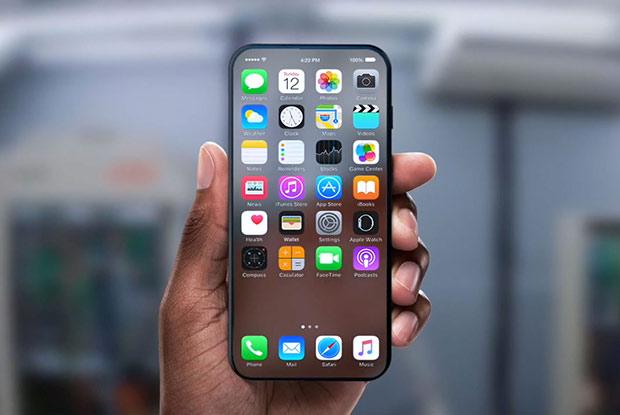 iPhone 8: оригинальный концепт прозрачного «яблочного» смартфона