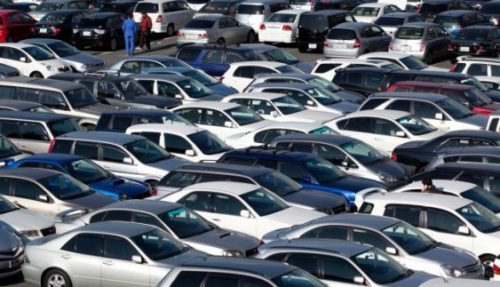 В Украине нерастаможенные авто будут штрафовать