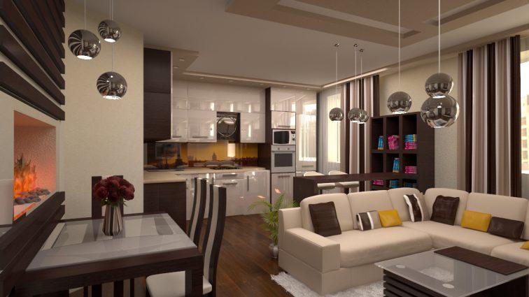 Дизайн кухни-студии: секреты уюта от профессионалов