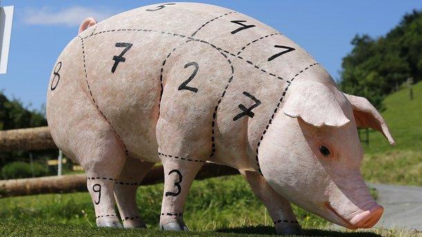 Беларусь частично запретила свинину из Украины