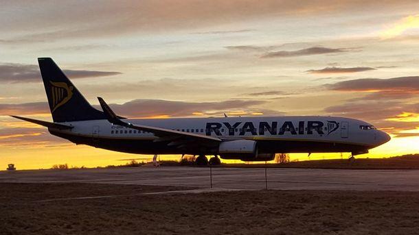 Лоукост Ryanair в Украине: стали известны направления и цены