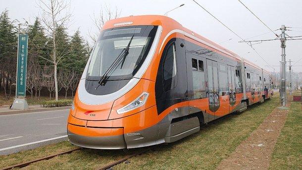 Китайцы переходят на водородные трамваи