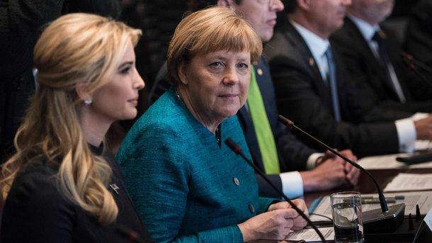 Меркель позвала дочь Трампа на «женскую двадцатку»